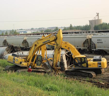 Excavating Grande Prairie